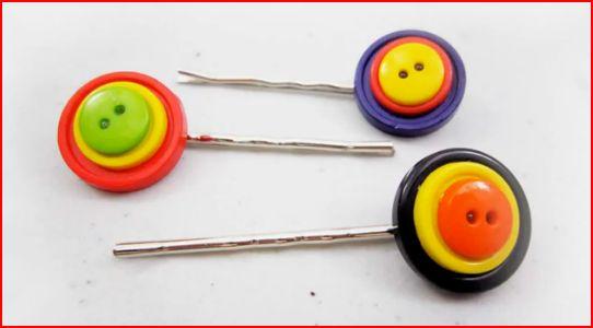 Horquillas con botones