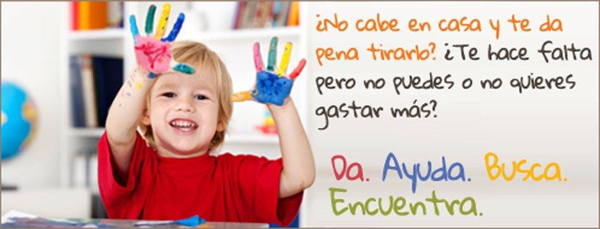 Web para intercambiar artículos infantiles