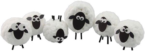 Ovejas de algodón
