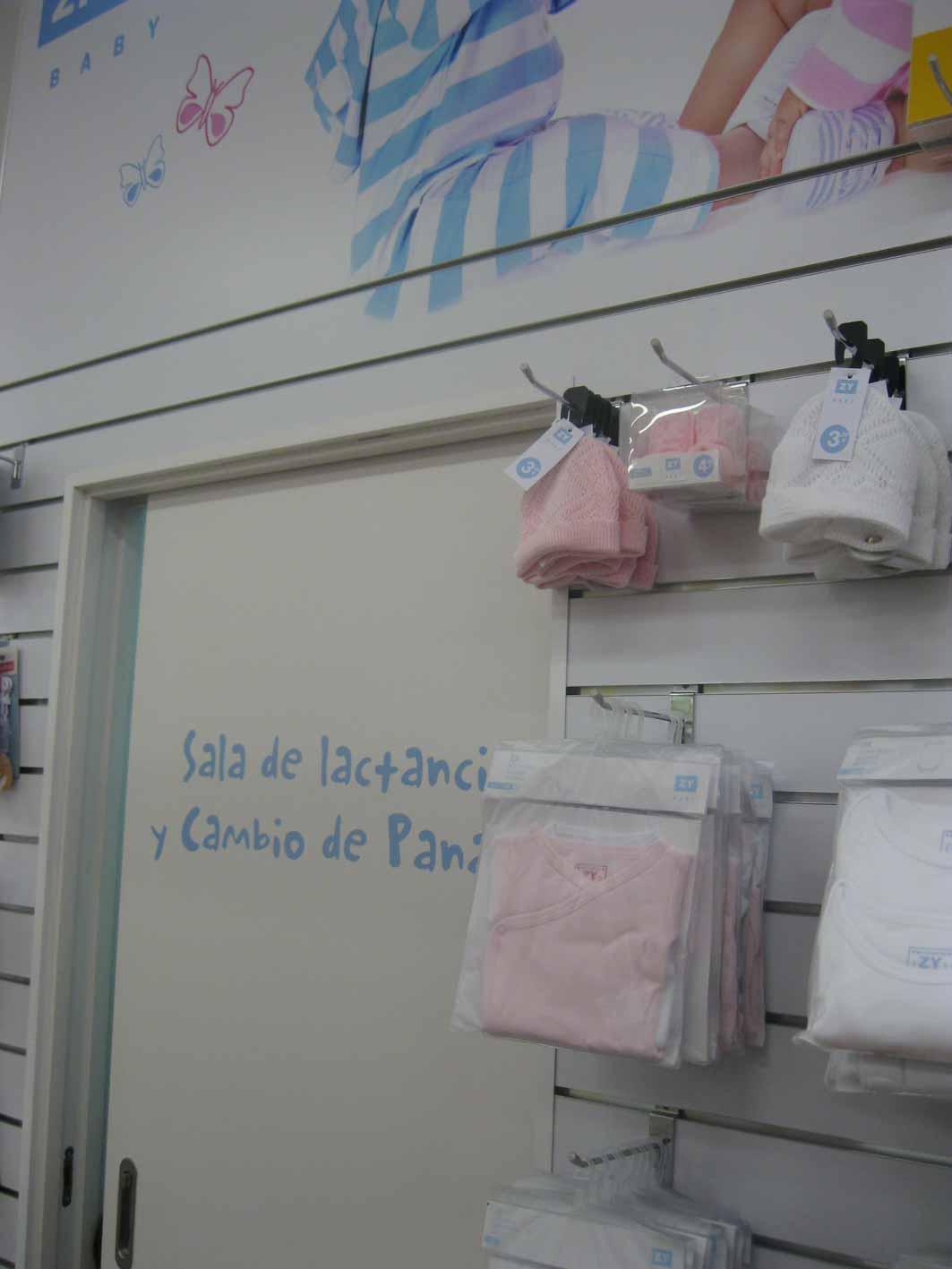 Sala de lactancia en Zippy