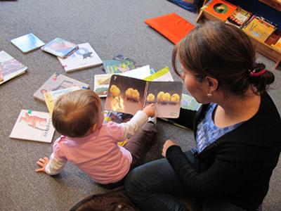 Elegir cuentos para niños de 0 a 3 años