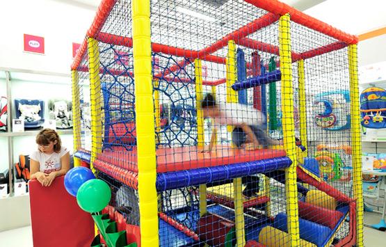 Mini parque infantil en Zippy