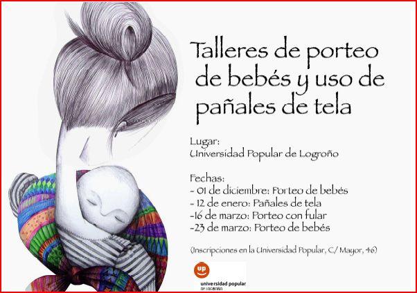 Taller de porteo de bebés en la UPL