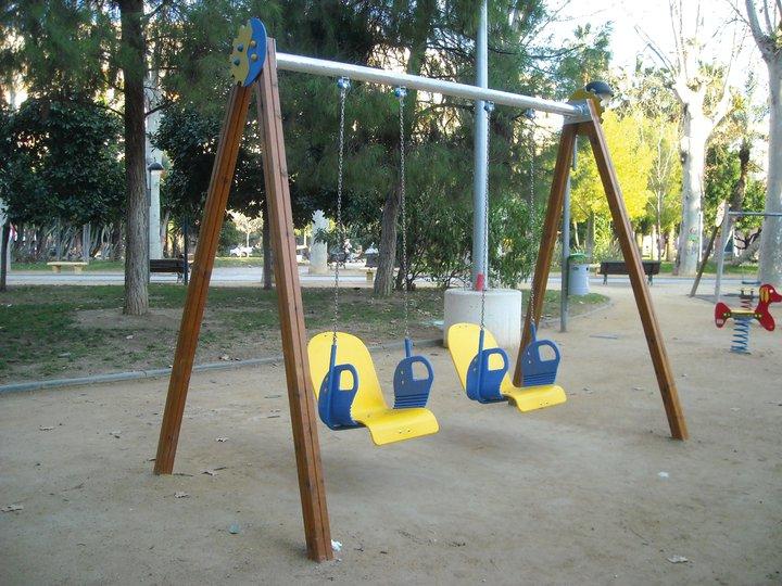 Una ciudad sin columpios para niños con discapacidad