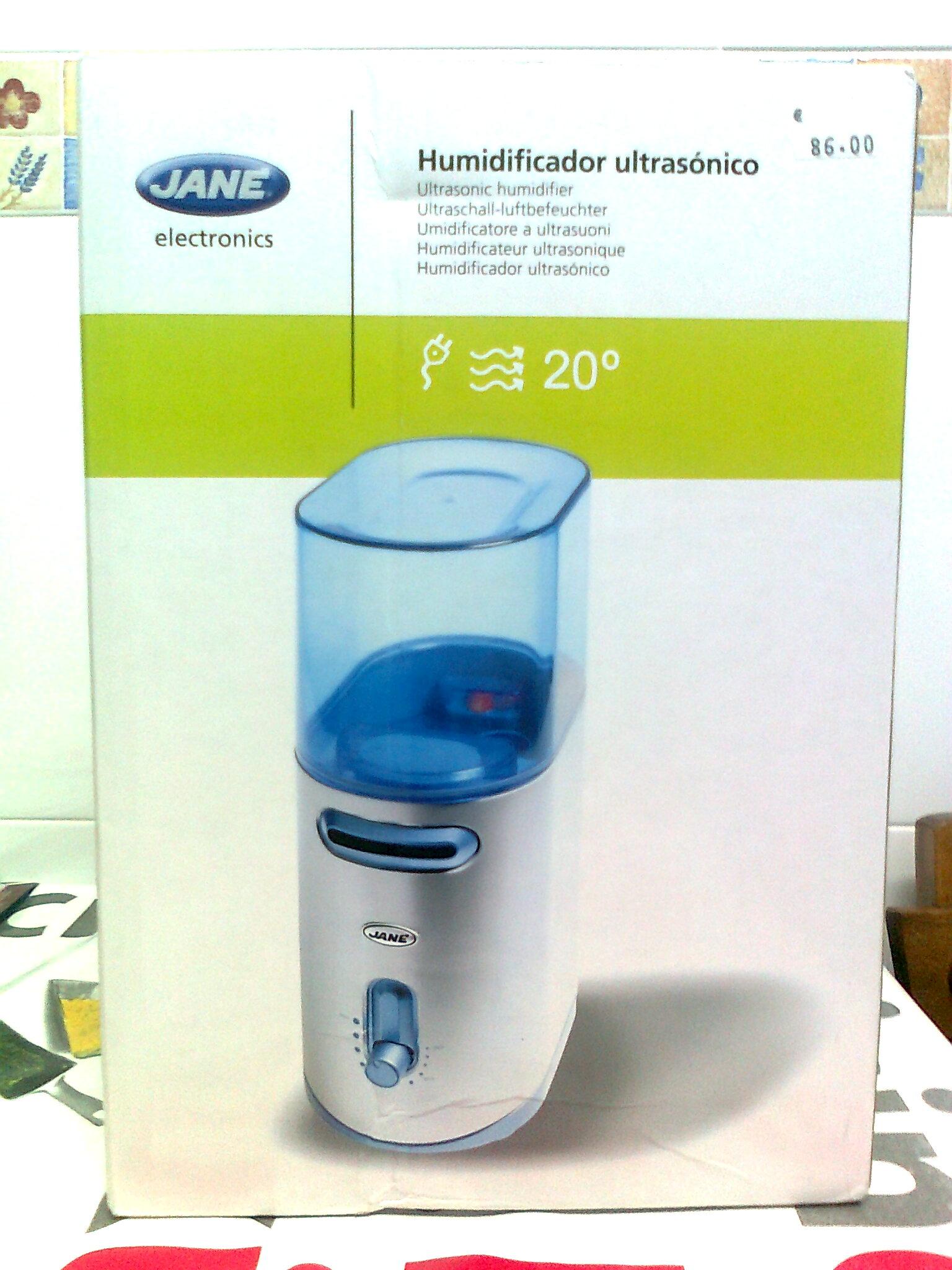 Se vende: humidificador ultrasónico (Jané)