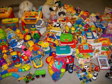 Recogida de juguetes en Kiddy Fun