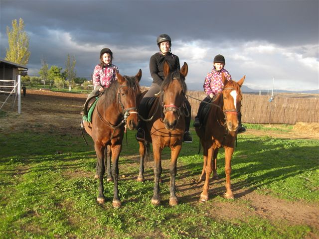 Paseos a caballo para disfrutar en familia