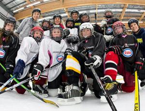 Partidos de hockey sobre hielo en Lobete