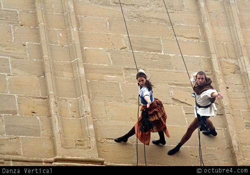 Danza vertical en Santo Domingo de La Calzada