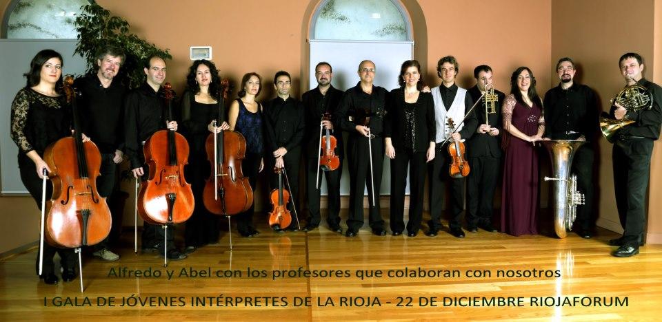 Gala de jóvenes intérpretes riojanos por Asprodema