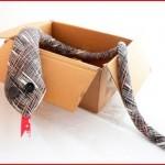 corbata serpiente