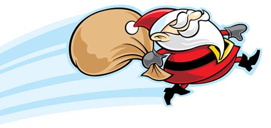 Esta Navidad, sigue la pista a Papá Noel