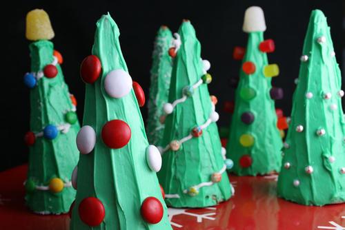 Árboles de Navidad con sorpresas