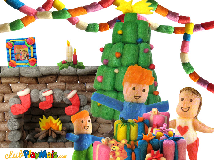 Taller de Playmais en la juguetería Kiddy Fun