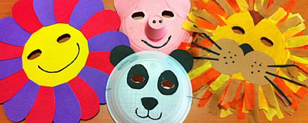 Taller de máscaras de Carnaval, en inglés, en El Secreto de Pitágoras