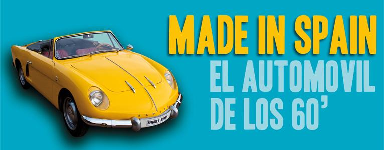 Exposición de coches de los 60