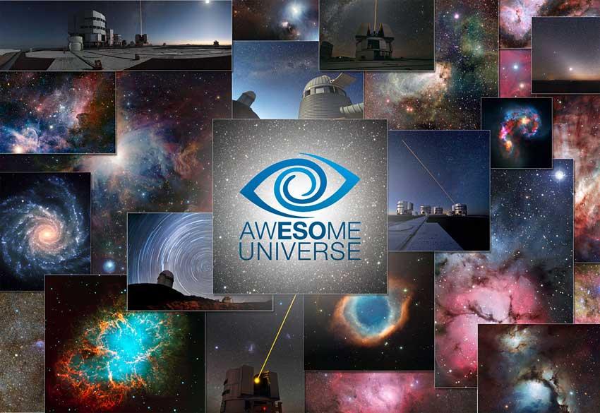 Exposición de fotografías del Universo