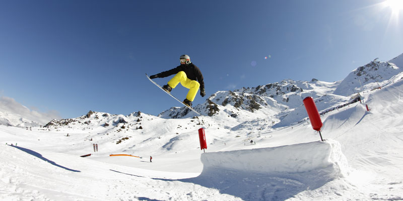 Campeonato de saltos de snow