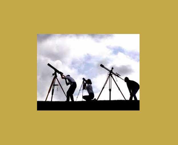 Observa la Luna y Júpiter con telescopio