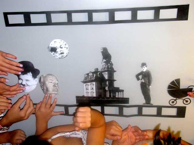 Talleres infantiles sobre el cine de Chaplin