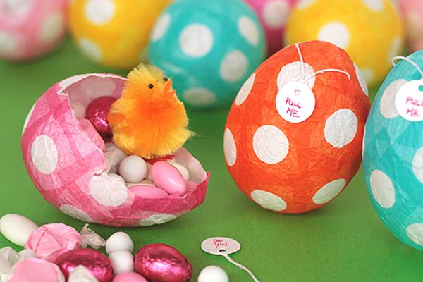 Huevos de Pascua… ¡Con sorpresa!