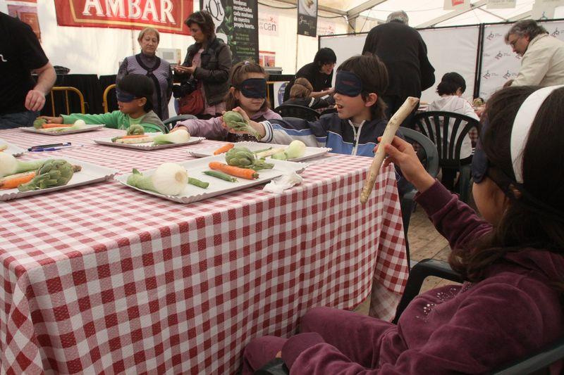 Taller familiar sobre las verduras, en Alfaro