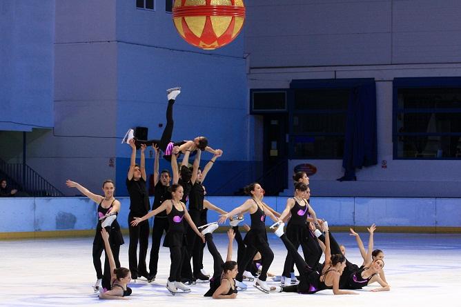 Campeonato de ballet sobre hielo en Logroño