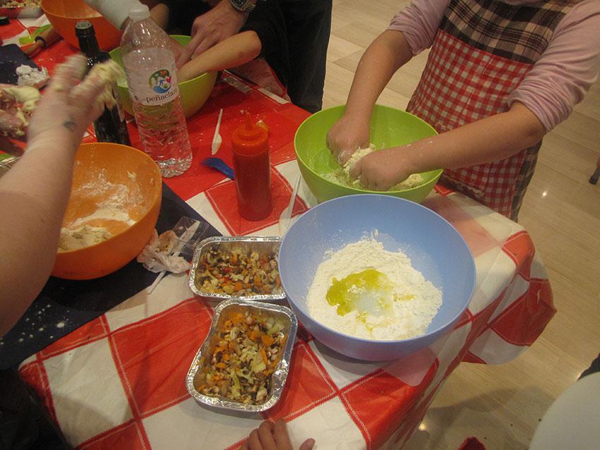 Talleres familiares sobre las verduras