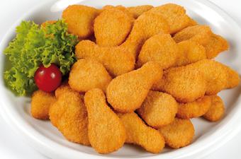 Nuggets de pollo caseros