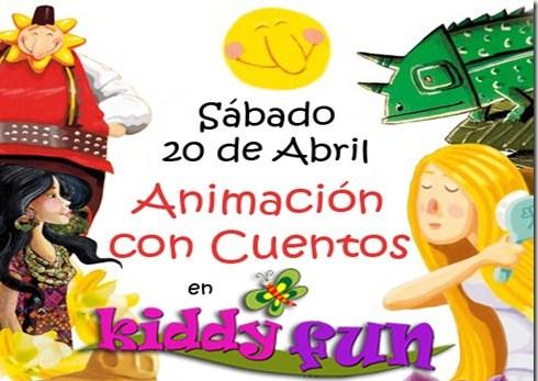 Animación con cuentos en Kiddy Fun