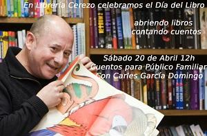 Cuentacuentos para celebrar el Día del Libro