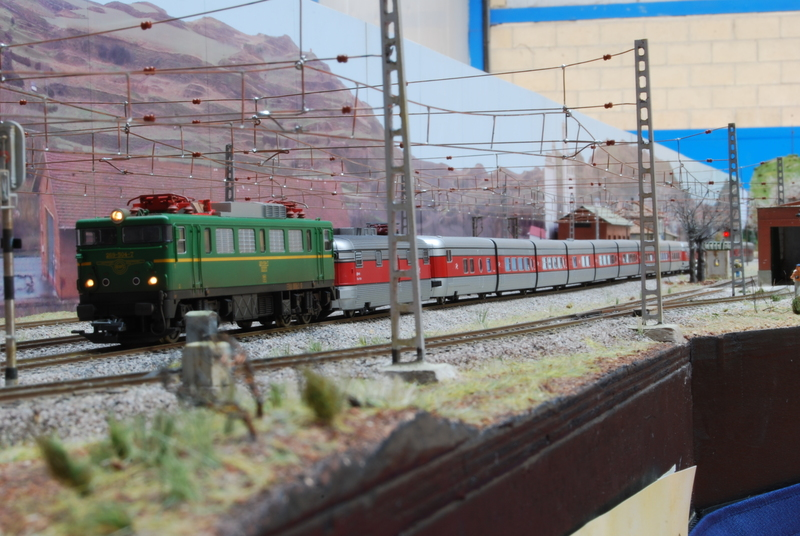Exposición de maquetas de trenes