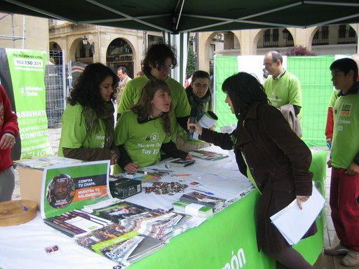 Fiesta de la solidaridad en Logroño