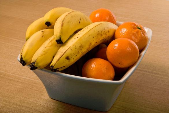Batido de naranja y plátano