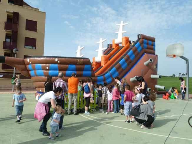 Animación infantil en las fiestas de Valdegastea