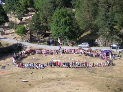 Exposición sobre el grupo scout Monte Clavijo