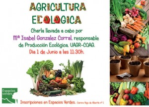 Talleres agricultura ecológica en Espacios Verdes