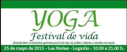 Festival de yoga en Las Norias
