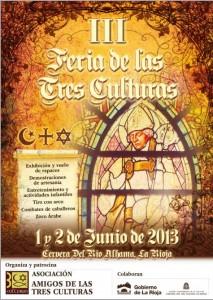 Cartel Feria de las Tres Culturas