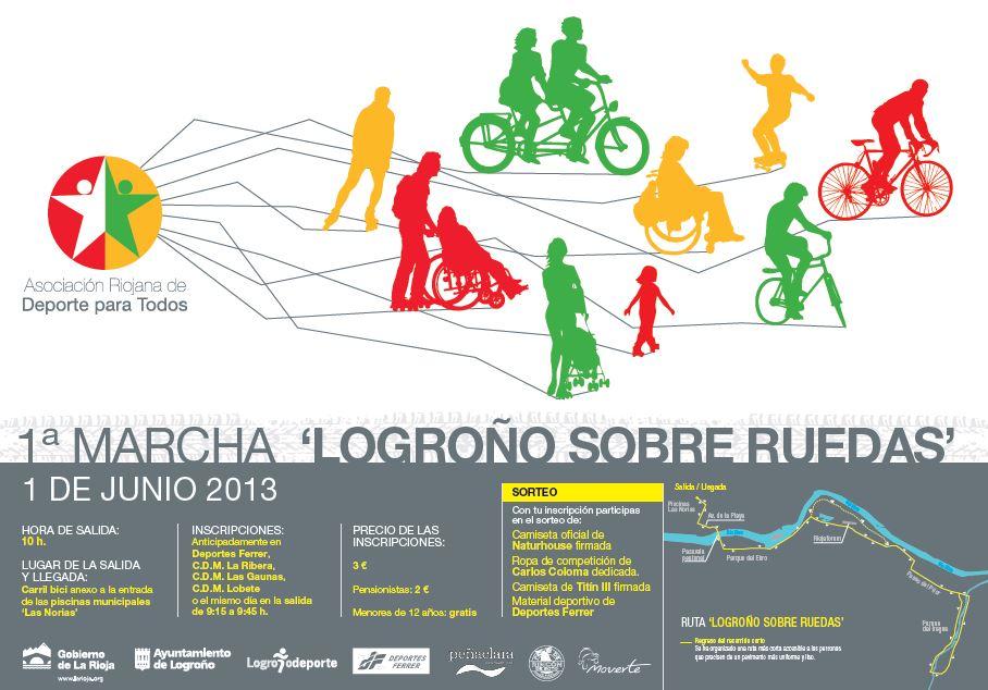 I Marcha Logroño sobre ruedas