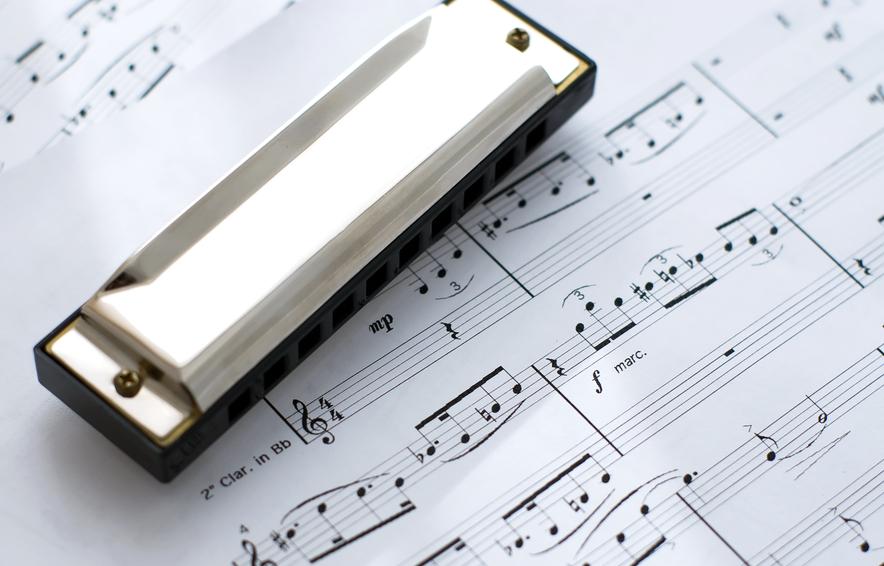 Actuaciones de armónica en directo