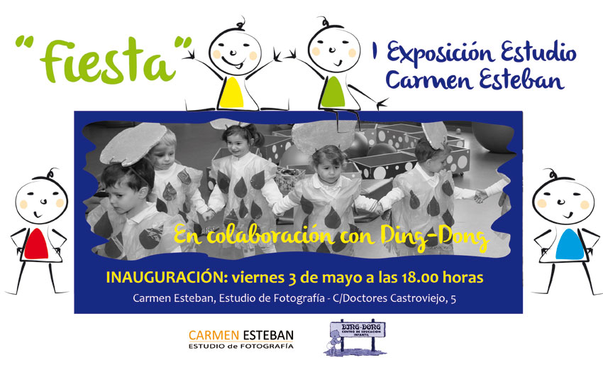 Exposición fotográfica en el estudio de Carmen Esteban