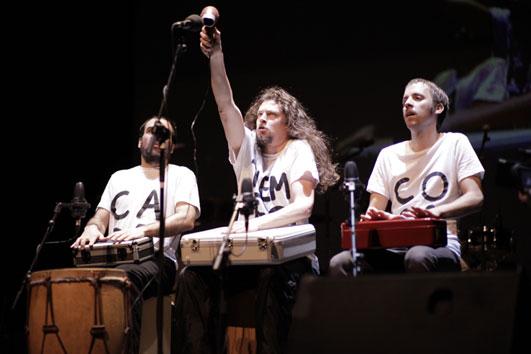 Espectáculo de percusión para niños