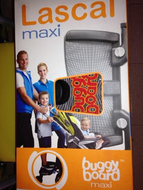 Se vende: plataforma para acoplar al carrito de bebé