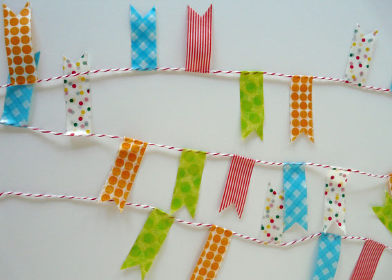 Taller con washi tape para niños y adultos