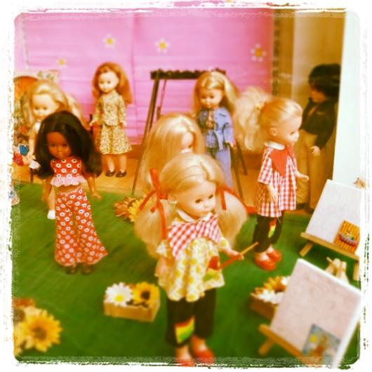 Exposición de Nancys antiguas
