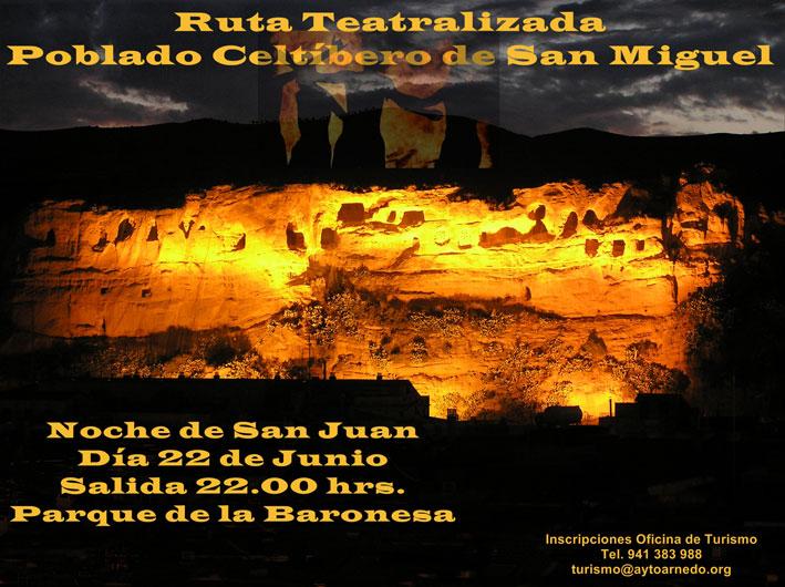 Vive la noche de San Juan en un poblado celtíbero