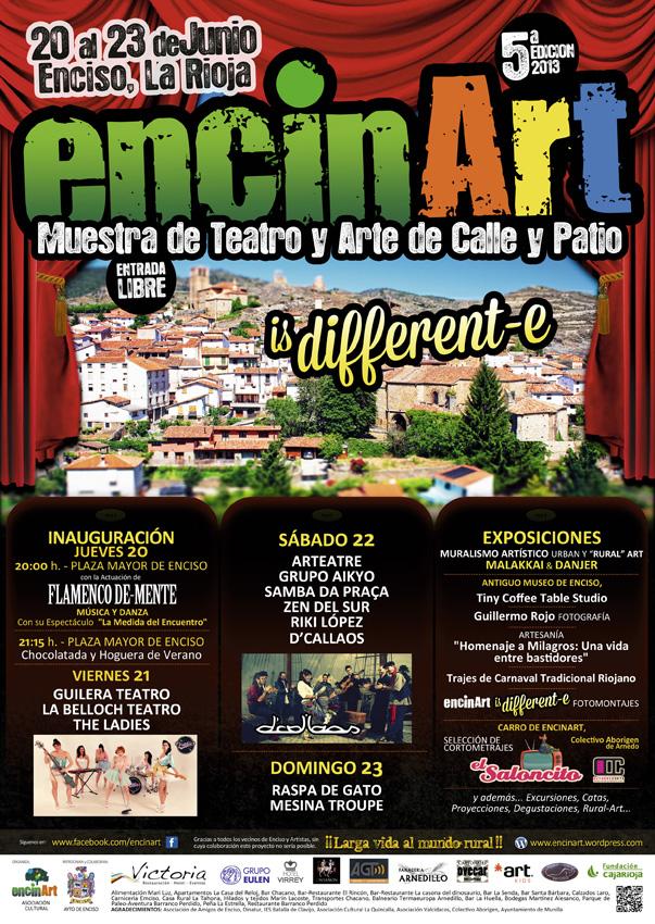 Cartel Encinart 2013