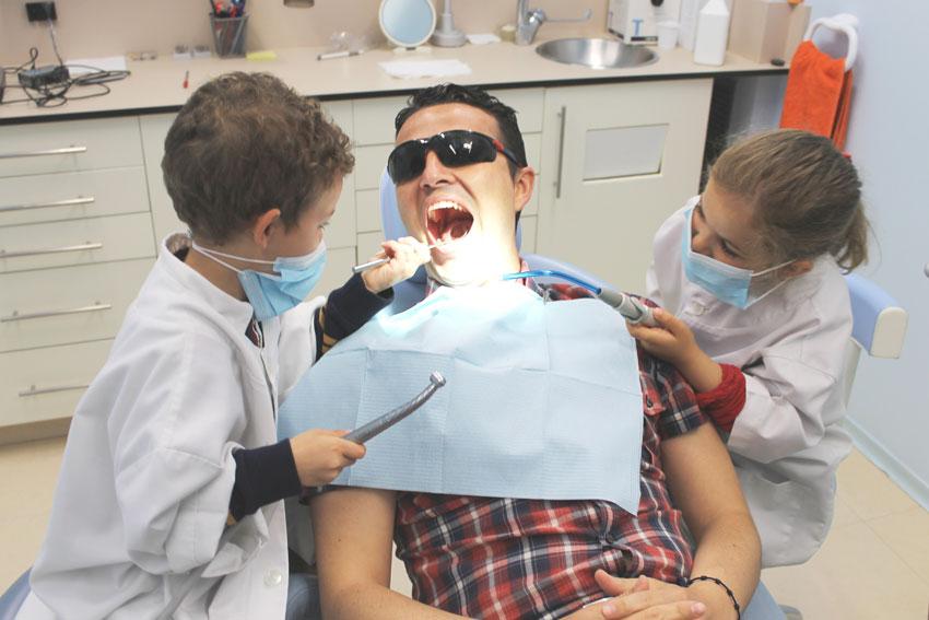Mamá, llévame al dentista, porfa