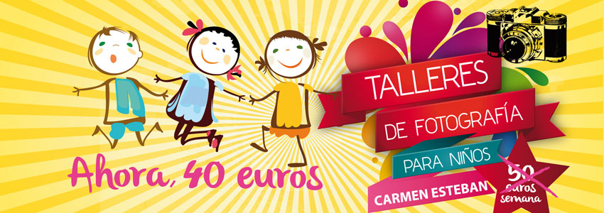 Talleres de fotografía para niños con Carmen Esteban
